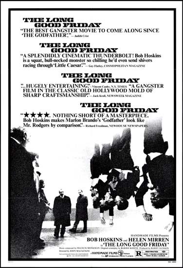 Long Good Friday, The US One Sheet movie poster