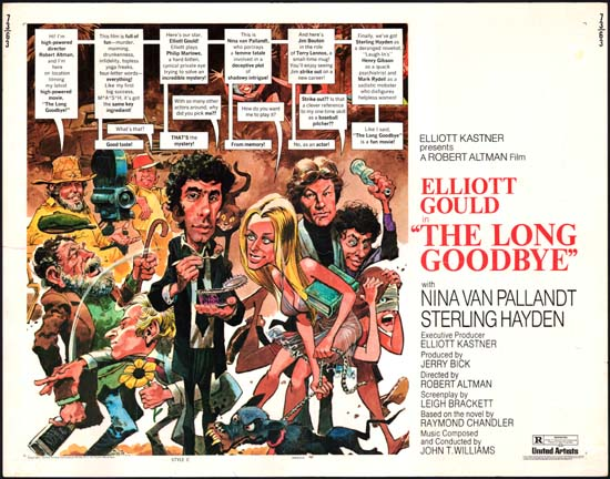 Long Goodbye, The US Half Sheet style C movie poster