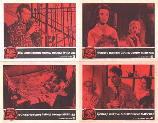 Look Back In Anger US Lobby Card Set of 8
