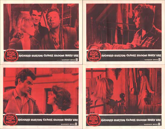 Image 2 of Look Back In Anger US Lobby Card Set of 8