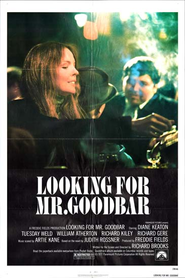 Looking for Mr Goodbar US One Sheet movie poster