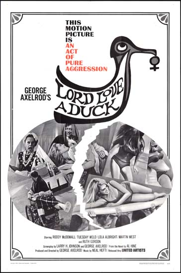 Lord Love a Duck US One Sheet movie poster
