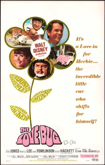 Love Bug, The US Window Card movie poster