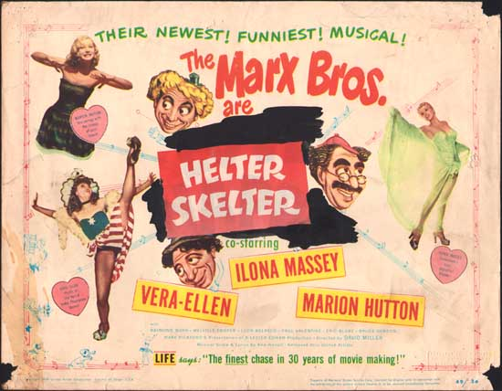 Love Happy [ Helter Skelter ] US Title Lobby Card