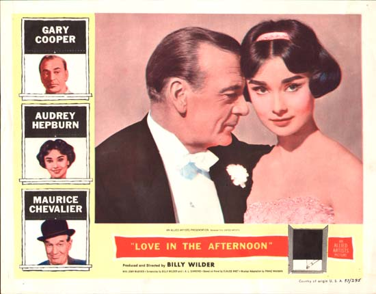 Love in the Afternoon US Lobby Card