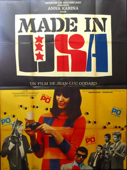 Made In USA French Grande movie poster