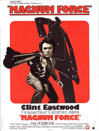 Magnum Force French movie poster