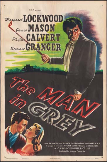 Man in Grey US One Sheet movie poster