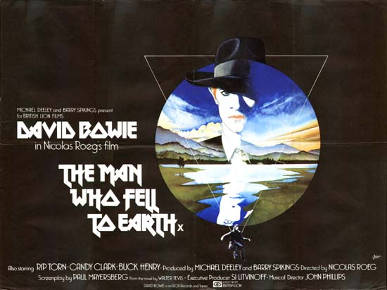 Man who fell to earth the original film poster movie poster studio