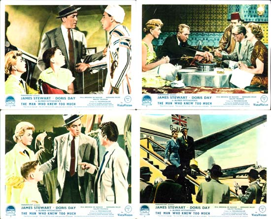 Image 2 of Man Who Knew Too Much, The UK FOH set of 8