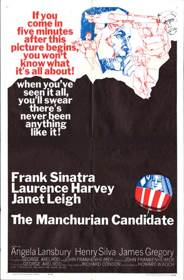 Manchurian Candidate, The US One Sheet movie poster