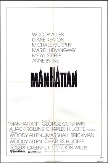 Manhattan US One Sheet style A movie poster