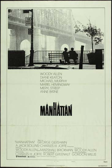 Manhattan US One Sheet style B movie poster