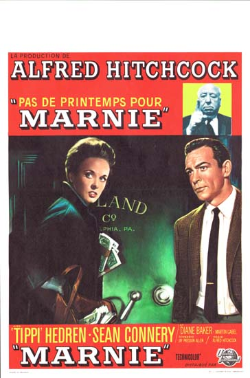 Marnie Belgian movie poster