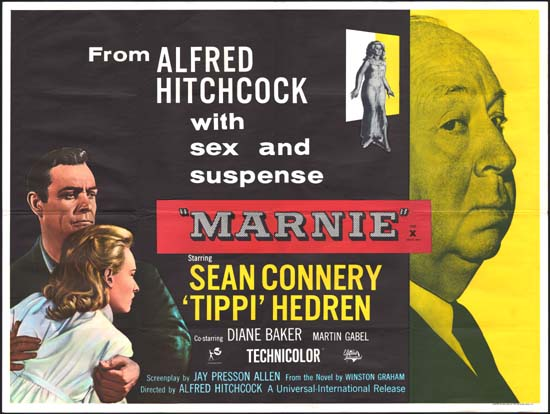 Marnie UK Quad movie poster