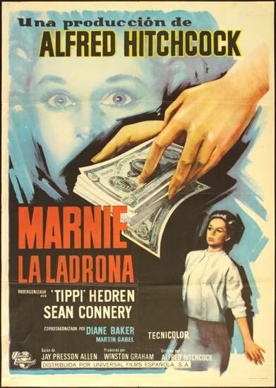 Marnie Spanish One Sheet movie poster