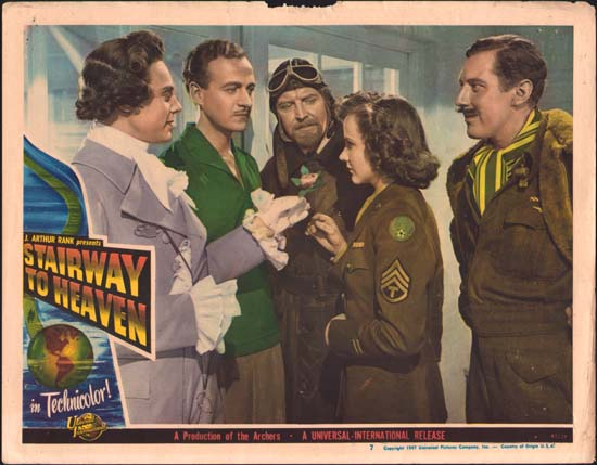 Matter of Life and Death, A [ Stairway To Heaven ] US Lobby Card number 7