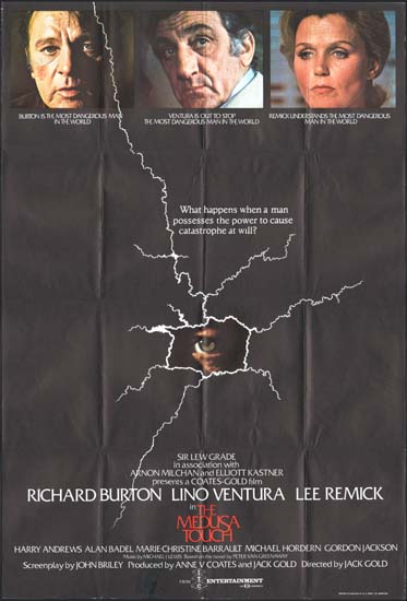Medusa Touch, The UK One Sheet movie poster