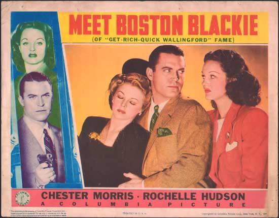 Meet Boston Blackie US Lobby Card