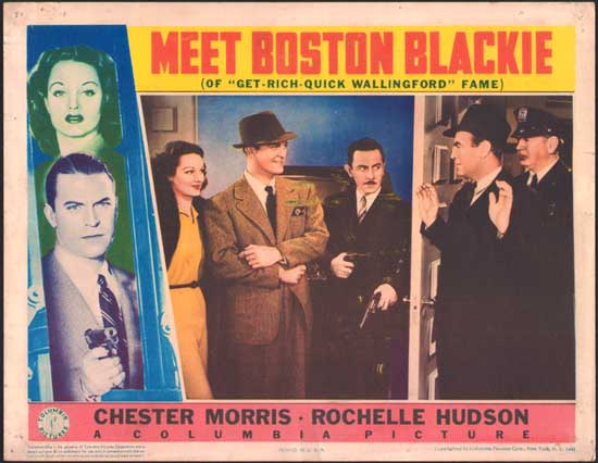 Meet Boston Blackie US Lobby Card