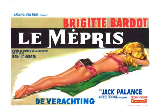 Mepris, Le Belgian movie poster