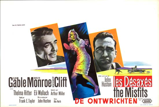 Misfits, The Belgian movie poster