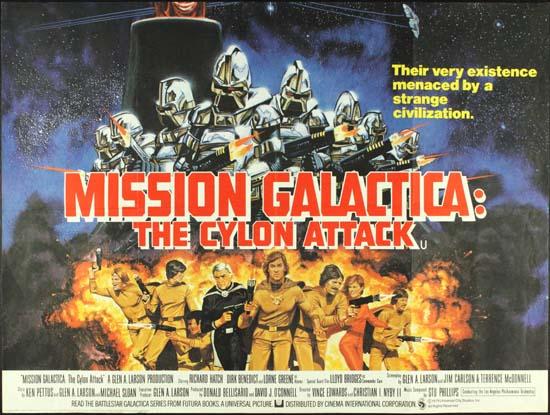 Mission Galactica The Cylon Attack GB Quad