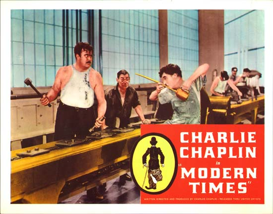 Modern Times US Lobby Card