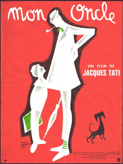 Mon Oncle French movie poster
