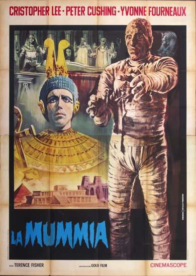 Mummy, The Italian Quattro Fogli movie poster