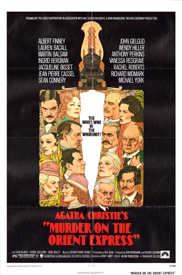 Murder on the Orient Express US One Sheet movie poster