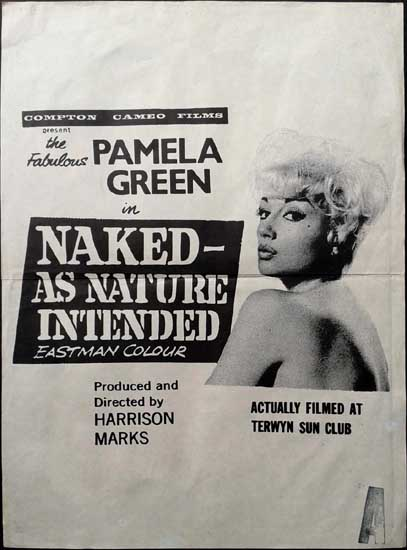 Naked As Nature Intended New Zealand Daybill movie poster