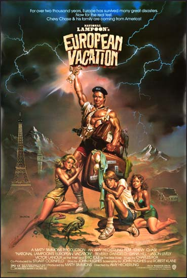National Lampoons European Vacation US One Sheet movie poster