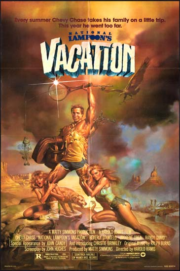 National Lampoons Vacation Original Film Poster
