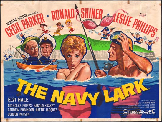 Navy Lark, The UK Quad movie poster