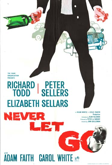 Never Let Go UK One Sheet movie poster