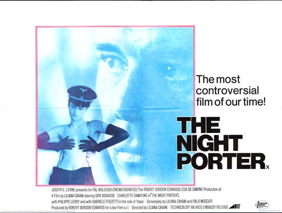 Night Porter, The UK Quad movie poster