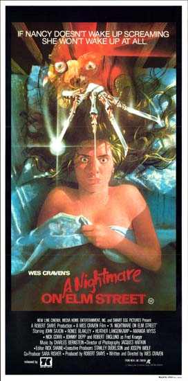 Nightmare on Elm Street, A Australian Daybill movie poster