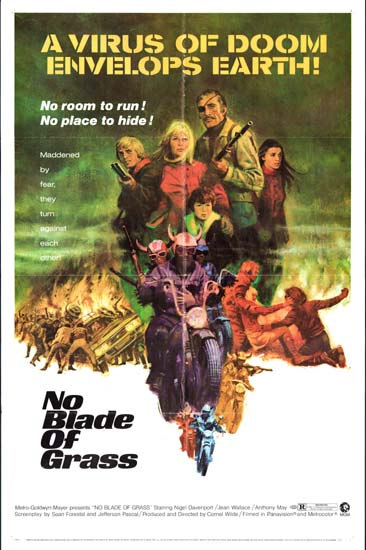 No Blade of Grass US One Sheet movie poster