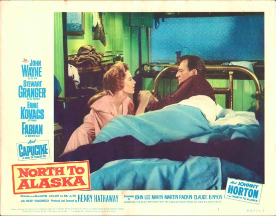 North to Alaska US Lobby Card number 5