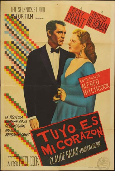Notorious Argentinian One Sheet movie poster