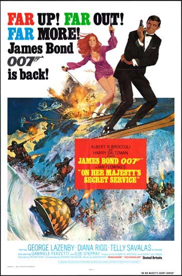 On Her Majestys Secret Service original film poster ...