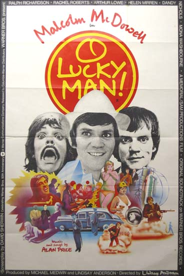 O Lucky Man UK 40x60 movie poster
