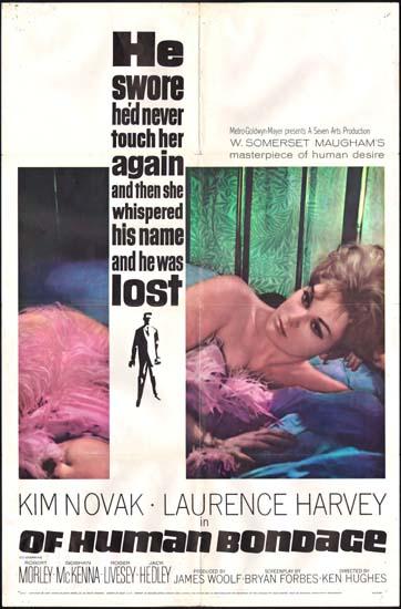 Of Human Bondage US One Sheet movie poster