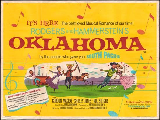 Oklahoma UK Quad movie poster