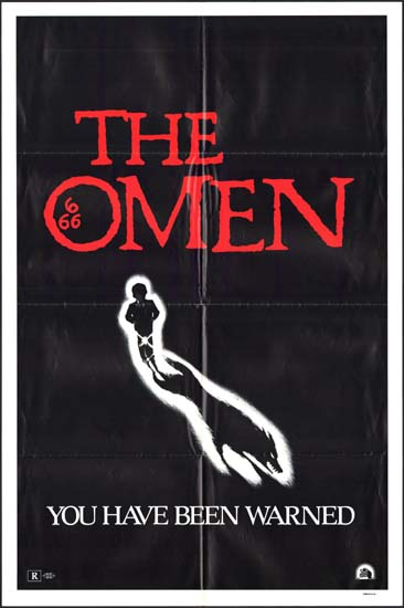Omen, The US One Sheet style A movie poster