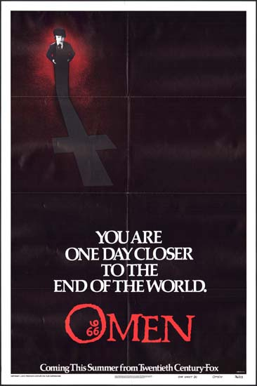 Omen, The US One Sheet teaser A movie poster