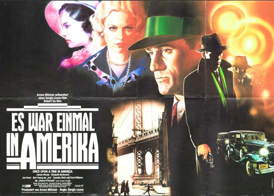Once Upon a Time in America German A1 movie poster