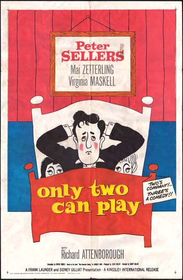 Only Two Can Play US One Sheet movie poster