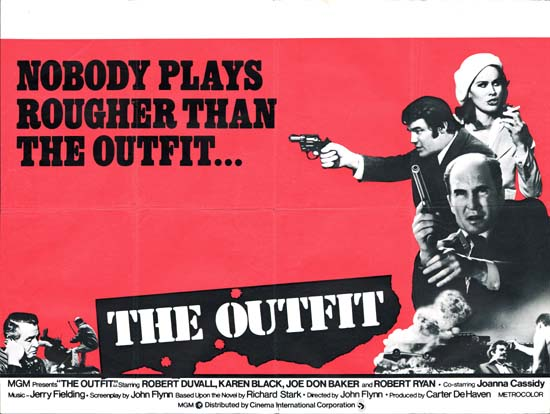 Outfit, The UK Quad movie poster